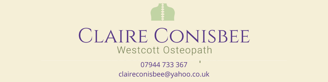 Claire Conisbee, Registered Osteopath